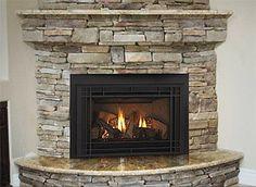 Walnut Travertine Tile Fireplace Ideas Visit Tileshop