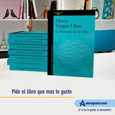 Es realidad!!  La llamada de la tribu Puede ser tuya. Llévate esta autobiografía intelectual de Mario Vargas Llosa. una de las lecturas que moldearon su forma de pensar y de ver el mundo en los últimos cincuenta años.   ¡Y SI NO TE GUSTA, LO DEVUELVES! #compras #aeropost #ofertas #book  #phone  #libros #shopping #colombia #mayo #tiendaonline #regalo #sorpresa #lectura #shoppingonline #vargasllosa Mario Vargas, Mario Varga Llosa, Mayo, Desktop Screenshot, Shape, Shopping, Gift, Reading, Colombia