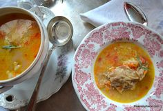 Cheeseburger Chowder, Paste, Thai Red Curry, Soup, Ethnic Recipes, Modern, Greece, Honey, Kitchens