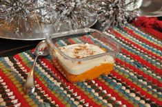 Chris and Heidi Powell's Sweet Potato Pudding Snack. Natural and just around 150 calories. Great dessert idea!