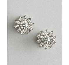 Tiffany & Co. Tiffany & Co. diamond 'Enchanting Flower' stud earrings