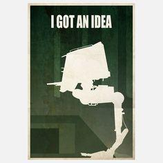 I Got An Idea - #starwars #fanart #illustration #print