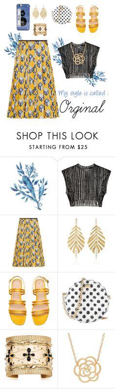 """Original"" by belen-cool-look on Polyvore featuring moda, Gucci, Hueb, Dolce&Gabbana, Aurélie Bidermann, Lord & Taylor y Kate Spade"