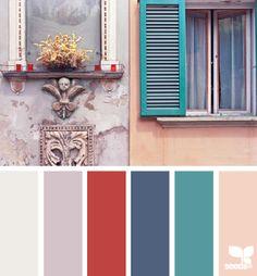 ༺༺༺♥Elles♥Heart♥Loves♥༺༺༺ ...........♥Art Color Charts♥........... #Color #Chart #ColorChart #Inspiration #Design #Moodboard #Paint #Palette #Decorate #Art #Renovate ~ ♥Color Palette