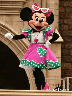 summer girl♡Minnie Mouse