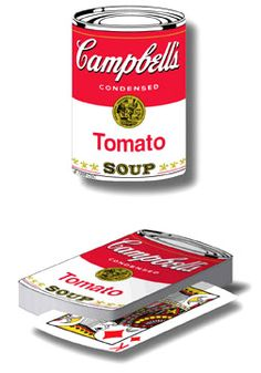 Campbell's Soup Playing Cards