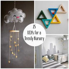 25-DIYs-for-a-Trendy-Nursery