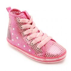 Princess Alexia, Bright Pink Zip-up Canvas Girls Shoes Kid Shoes, Girls Shoes, Shoe Boots, Pink Zip Ups, School Shoes, Boots For Sale, Pink Girl, High Top Sneakers, Footwear
