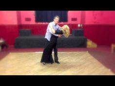 Step Over dip - Moves never taught in a class (Modern Jive or Ceroc© styled class)