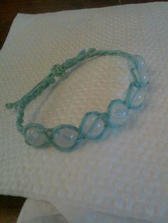 Cool blue bracelet!