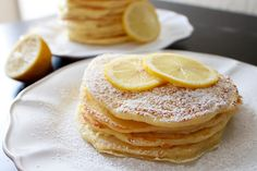 My Name Is Snickerdoodle: Fabulous Food Friday #134 {Lemon Pancakes}