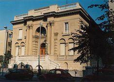 Tesla museum in Belgrade, Yugoslavia.