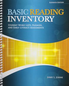 Marketing management 4th edition book pinterest books basic reading inventory student word lists passages and early literacy assessments fandeluxe Image collections