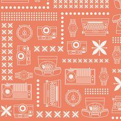 Transistor fabric by clairicegifford on Spoonflower - custom fabric