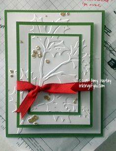 triple layer with embossing