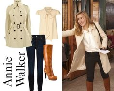 Annie Walker Riding - Fashion From Covert Affairs - All Yours Styling - The Tres Chic