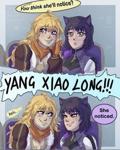 KizzyCannon — What did you do Yang? [maybe I'll make a part 2 to. Rwby Anime, Rwby Fanart, Yuri, Rwby Bumblebee, Red Like Roses, Rwby Red, Rwby Comic, Rwby Ships, Blake Belladonna