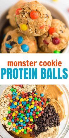 Monster Cookie Energy Balls