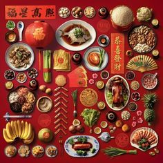 Chinese New Year traditions - Every item has a symbolic meaning Chinese New Year Wishes, Chinese New Year Crafts, Chinese New Year Food, Chinese New Year Poster, Chinese New Year Traditions, New Year Wishes 2017, New Years Traditions, Chinese New Year Decorations, Chinese New Year 2017 Design