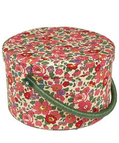 Liberty Print Betsy Print Round Sewing Box - why oh why did I not buy it?