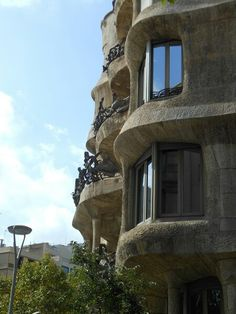 Casa mila Barcelona, Mansions, House Styles, Home, Manor Houses, Villas, Ad Home, Barcelona Spain, Mansion