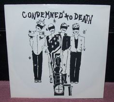 "Condemned To Death ""Self Titled"" R Radical Records (1984)"