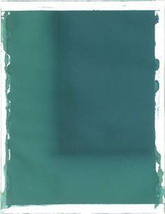 """Diane Szczepaniak - """"Origin of Blue III"""" 42x35"""
