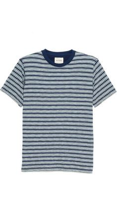 Billy Reid Florence Stripe T-Shirt. $78.00. #fashion #men #t-shirt