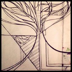 #sketch #panno #interior #draw #drawing #pen #pencil #art #artist #панно #росписьстен #рельеф #декор #дизайнсреды #дизайнинтерьера #рисунок #дерево #painting #graphit #graphic