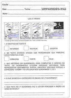 Leitores: Atividades de português para o 4° ano