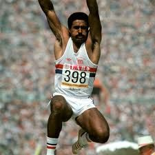 Daley Thompson - all-round athletic prowess 1984 Olympics, Summer Olympics, Famous Sports, British Sports, Sports Personality, Long Jump, Sports Stars, Sport Man, Track And Field