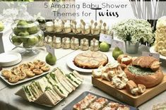 Mammamoiselle: Baby Shower for Twins : 5 Theme Ideas