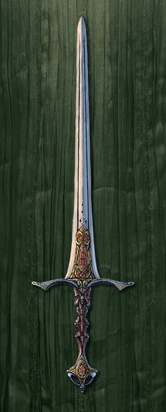 Sword Design 2 by ~Merlkir on deviantART thinking of getting this tattooed on my forearm :p