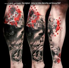 buena-vista-tattoo-club-memento-mori-leg-sleeve.jpg (657×650)