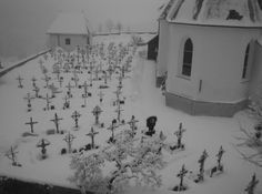 All the Empty Places Snow Fairy, Snow Angels, Cemetery, Winter Wonderland, Creepy, Scenery, Landscape, World, Places