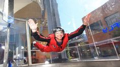 Our own Abby Carrier is going to try indoor skydiving this year.