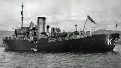 8 Aug 1942 HMS Primrose (Lt.Cdr. A. Ayre, RNR (retired)) picks up 54 survivors from the Greek merchant Mount Kassion that was torpedoed and sunk by German U-boat U-176 and 7 survivors from the British merchant Anneberg that was torpedoed and sunk by German U-boat U-379 in convoy SC-94 southeast of Cape Farwell in position 56°30'N, 32°14'W.