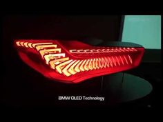 BMW OLED (Organic LED) Preview of BMW Lighting - YouTube made using Astron FIAMM OLEDs