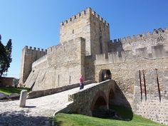 Castillo de San Jorge en Lisboa - http://www.absolutportugal.com/castillo-de-san-jorge-en-lisboa/