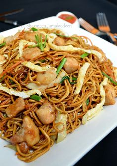 Mauritian Fried Noodles (Mine Frite Special)   Confessions Of A Foodaholic