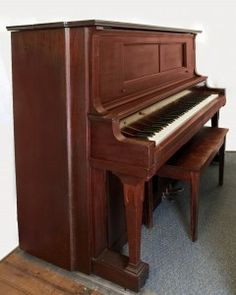 1909 Autotone Ex-player Upright Free Delivery w/in 40 Miles Bench Included