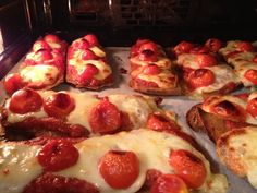 schnelle pizza-brote  Freunde am kochen Risotto, French Toast, Pasta, Breakfast, Beautiful, Food, Healthy Pizza, Breads, Friends