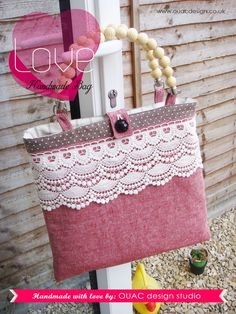Sweet Lady Look  Retro Chic Spring Bag Perfect for by OUACdesign