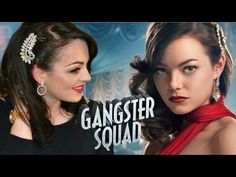 Grace Faraday Gangster Squad Makeup Tutorial