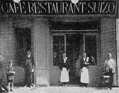 La Valencia desaparecida: Café Restaurante Suizo, Bajada de San Francisco n... San Francisco, Where To Go, Trip Planning, Black And White, Travel, Painting, Nostalgia, Valencia Spain, Old Advertisements