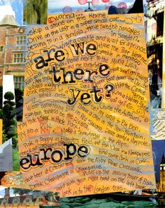 TRAVEL CARD  Are We There Yet    a check off by MaryKlumpStudio, $3.50