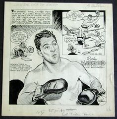 Image result for rocky marciano trading card