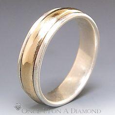 James Avery Man's Wedding Band 14K Gold & by OnceUponADiamond, $549.00