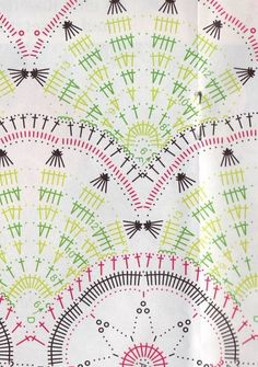 Fabulous Crochet a Little Black Crochet Dress Ideas. Georgeous Crochet a Little Black Crochet Dress Ideas. Crochet Shawl Diagram, Crochet Lace Edging, Crochet Motifs, Freeform Crochet, Crochet Stitches Patterns, Crochet Doilies, Cross Stitches, Black Crochet Dress, Crochet Skirts