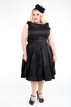 Domino Dollhouse - Plus Size Clothing: Betty Dress